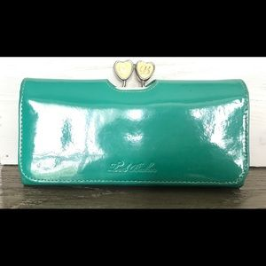 Ted Baker teal wallet
